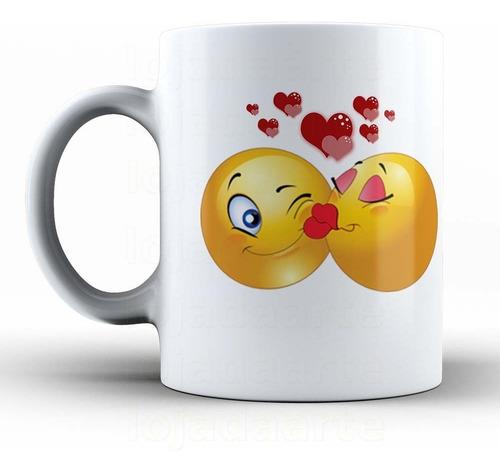 caneca emoji - love -  smiley cód: 1003la