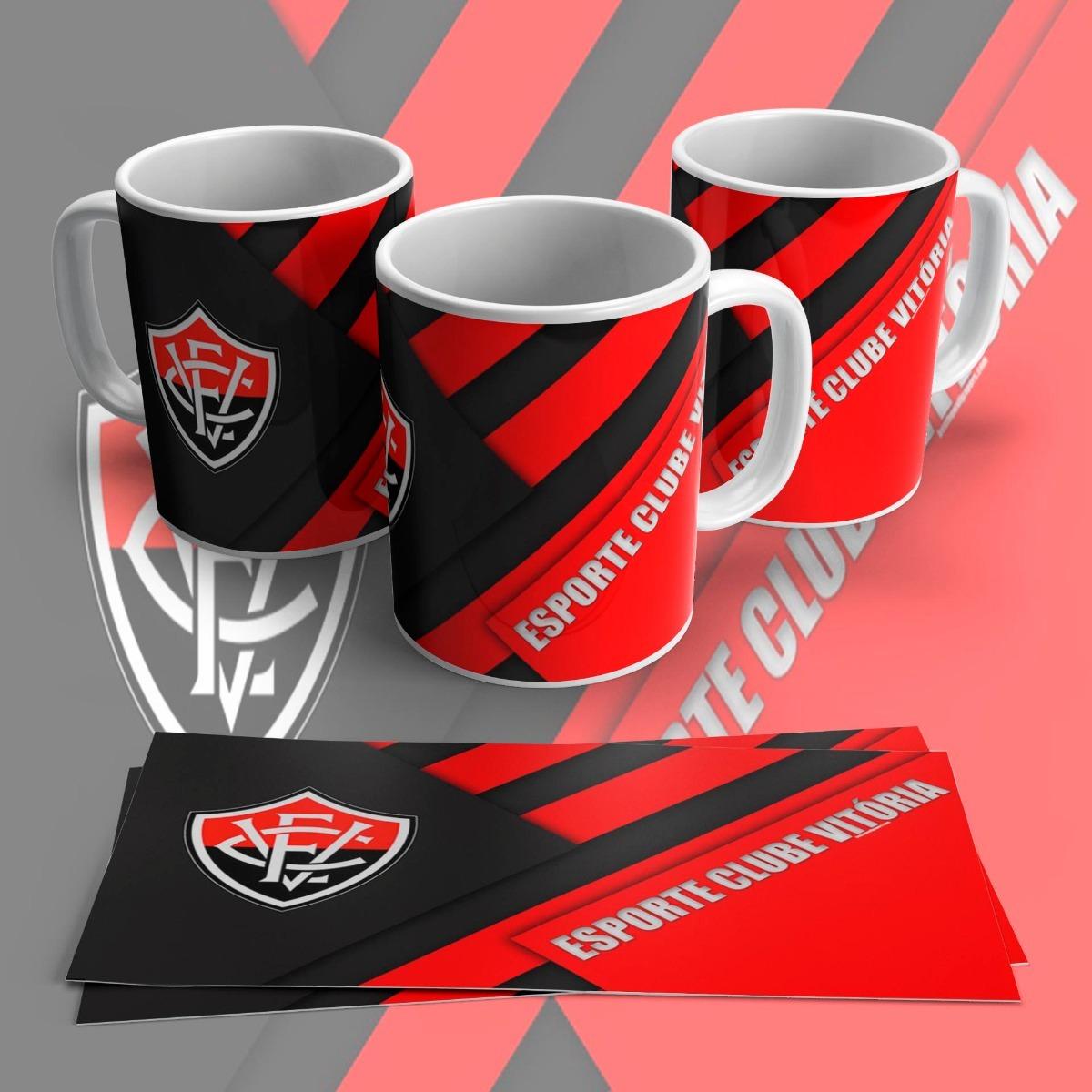 Caneca Esporte Clube Vitoria - R  29 854f25a2bd740