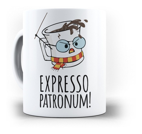 caneca expresso patronum harry potter