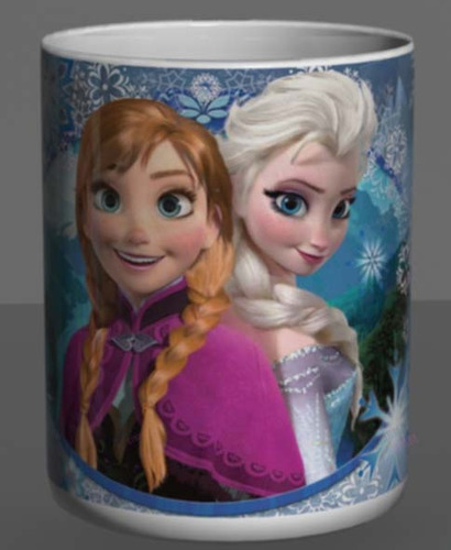 caneca frozen - filme   elsa   + chaveiro