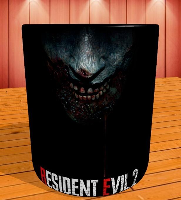 Caneca Gamer Resident Evil 2 Remake Mod 1 Black