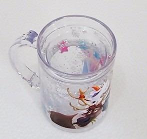 caneca gel licenciada e original frozen m & m presentes