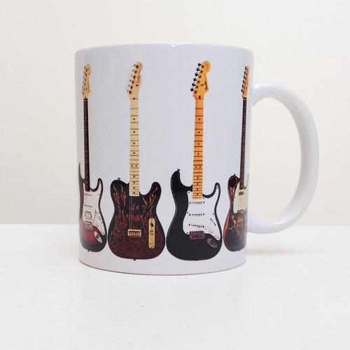 caneca guitarras rock jazz blues 325 ml