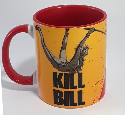 caneca kill bill porcelana interior colorido