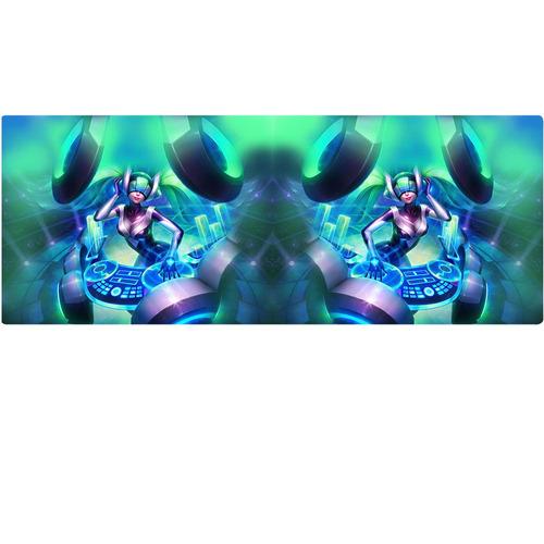 caneca league of legends dj sona cinética mirror