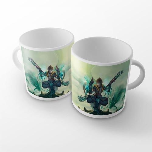 caneca league of legends wukong dragão de jade mirror