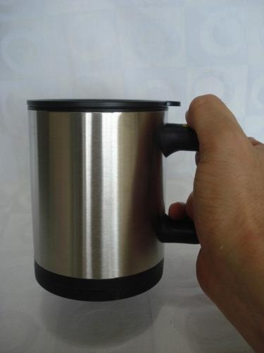 caneca magica mixer aluminio a pilhas 2 x aaa