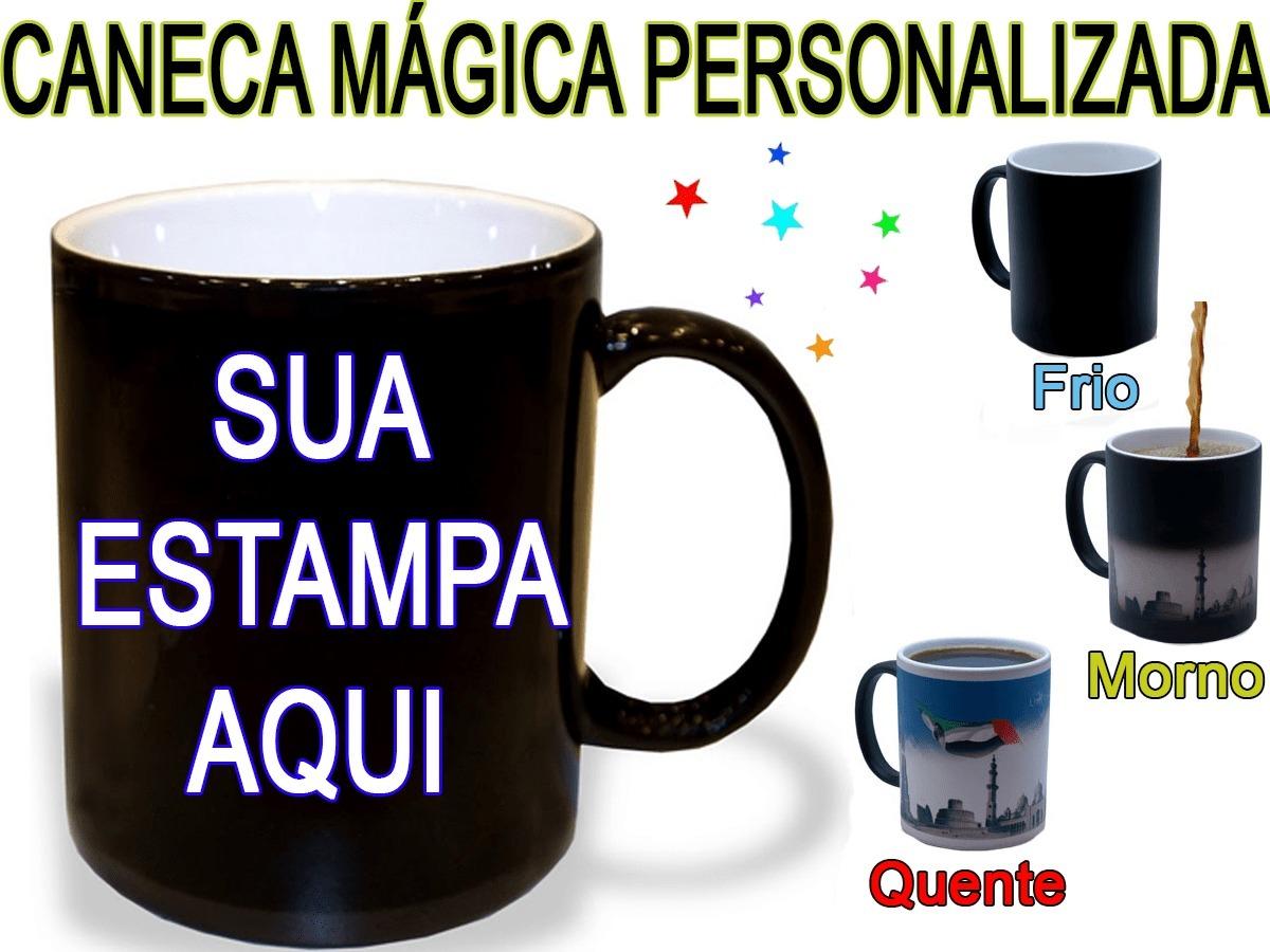 3d38bb825 Caneca Mágica Personalizada Dia Das Mães - Presente Para Mãe - R  34 ...