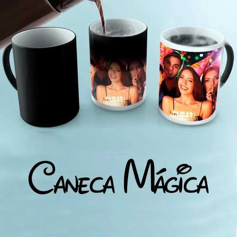 bc5a61370 caneca mágica personalizada presente dia namorados pais mães. Carregando  zoom.