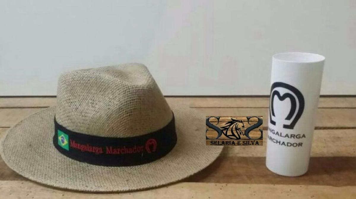 caneca mangalarga e chapéu mangalarga kit ses oferta p  você. Carregando  zoom. 96c72aa1643