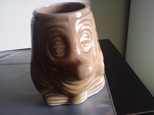 caneca miniatura cerâmica