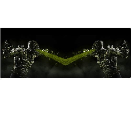 caneca mortal kombat x reptile mirror