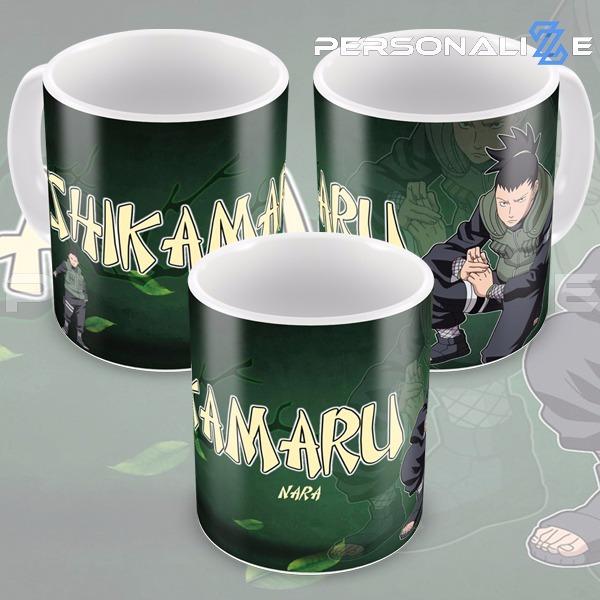 88268106d7 Caneca Naruto Shikamaru Nara Modelo 04 - R  25