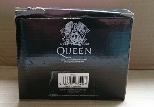 caneca oficial queen live at wembley 1986 freddie mercury