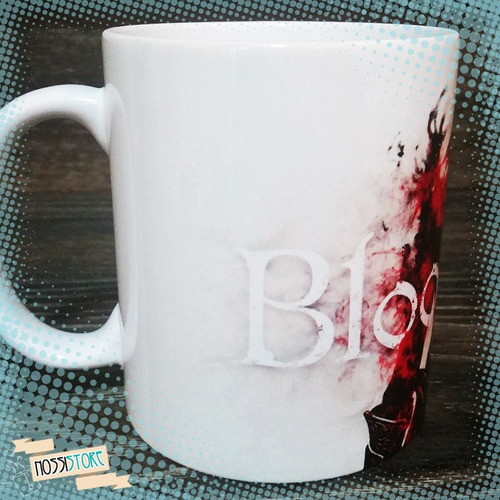 caneca personalizada bloodborne