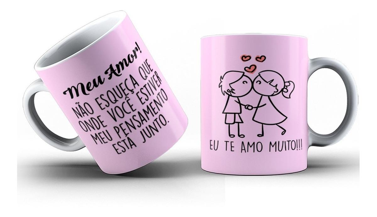 Caneca Personalizada Com Foto E Frases Bom Dia Amor