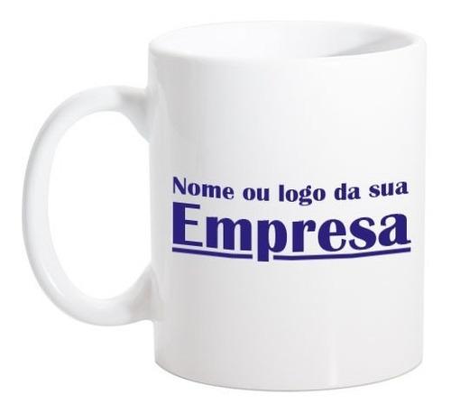 caneca personalizada com logotipo ou nome da sua empresa