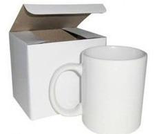 caneca personalizada de porcelana + caixinha - frete grátis