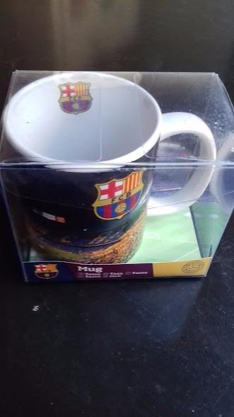 dcaeeeefb5 Caneca Personalizada Do Fc Barcelona Produto Oficial - R  40