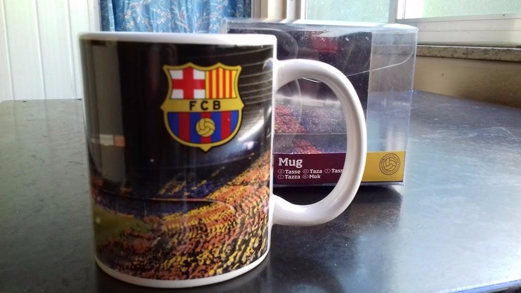 caneca personalizada do fc barcelona produto oficial. Carregando zoom. 5c3cd8b2d7c90
