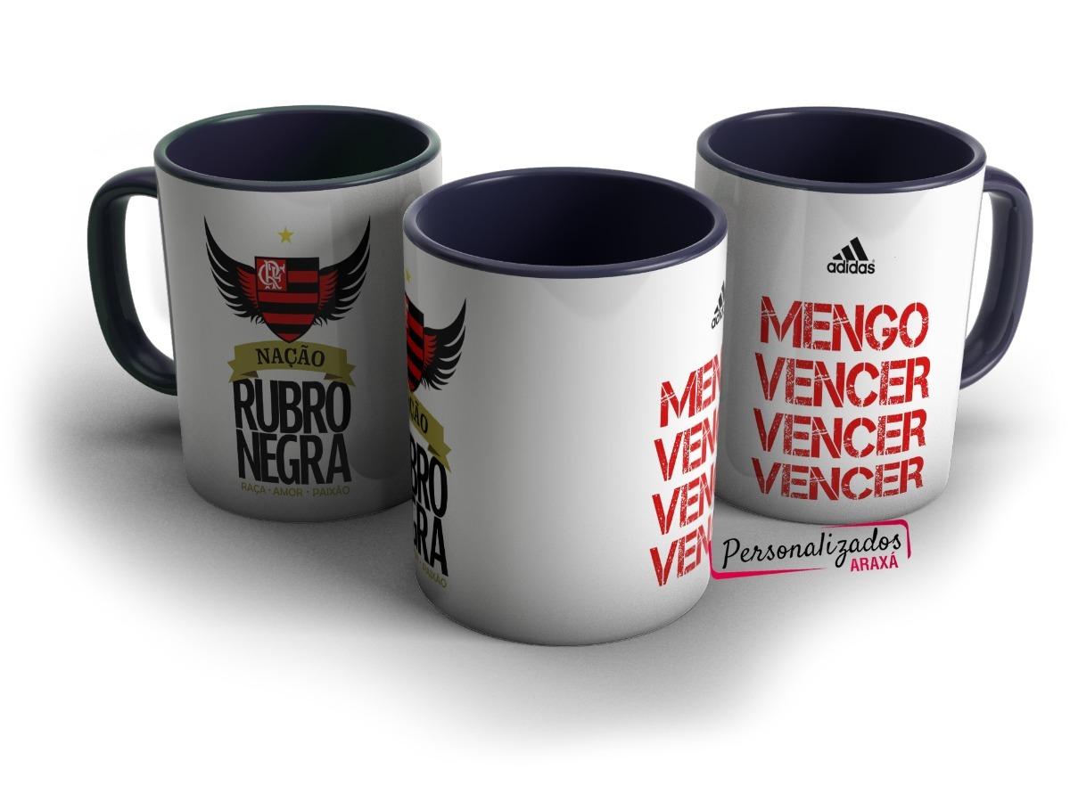 1f3f64e517 Caneca Personalizada Flamengo Mengo Vencer Rubro Negro - R  19