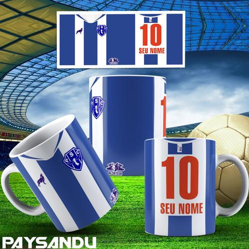 caneca personalizada futebol times do norte e centro oeste