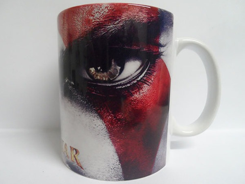 caneca personalizada god of war