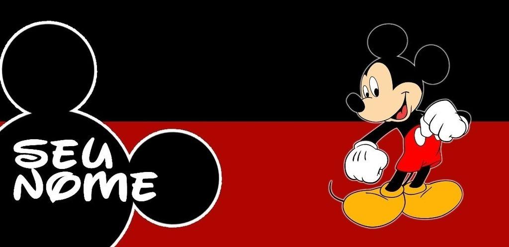 Louca Pra Dar >> Caneca Personalizada Mickey Mouse Com Nome - R$ 23,88 em Mercado Livre