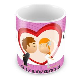 Caneca Personalizada Padrinhos Casamento