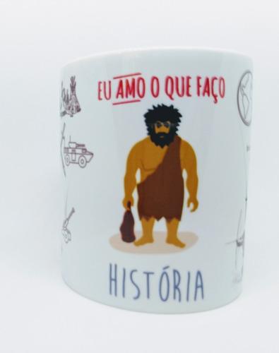 caneca personalizada profissão história historiador