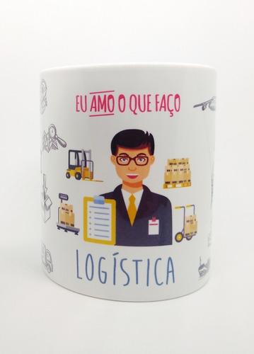 caneca personalizada profissão logística #1
