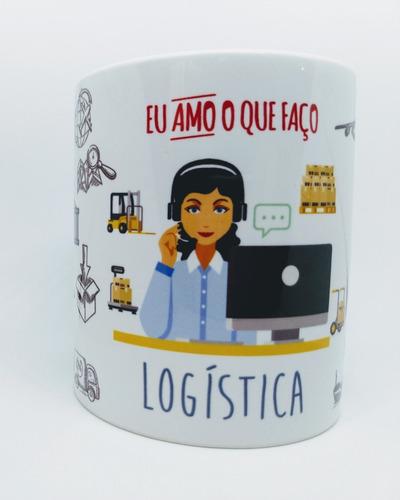 caneca personalizada profissão logística - #2
