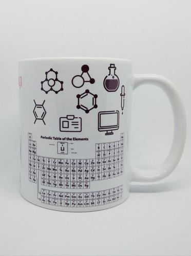 caneca personalizada profissão química feminino