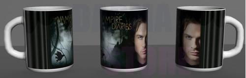 caneca personalizada the vampire diaries - seriado tvd