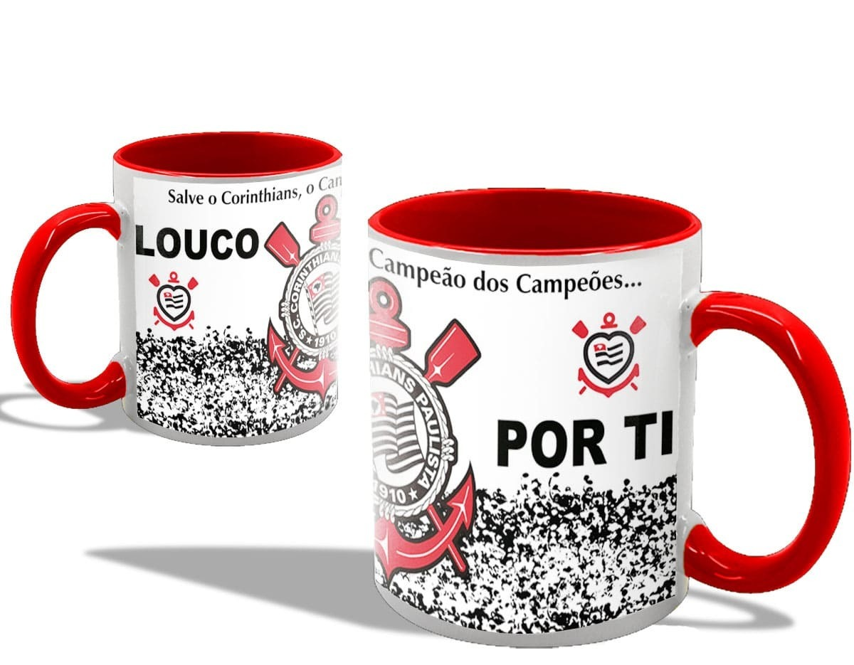457bb11fe Caneca Personalizada Times De Futebol (10 Un) - R  399