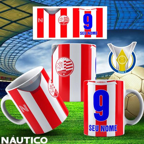 caneca personalizada times de futebol do nordeste