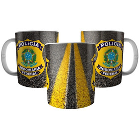 Caneca Polícia Rodoviária Federal - Prf