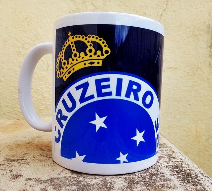 Caneca Porcelana Personalizada Cruzeiro - R  26 6287a3e5c99a9
