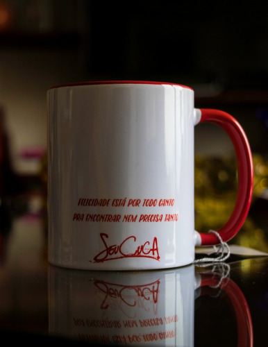 caneca porcelana seu cuca mais amor