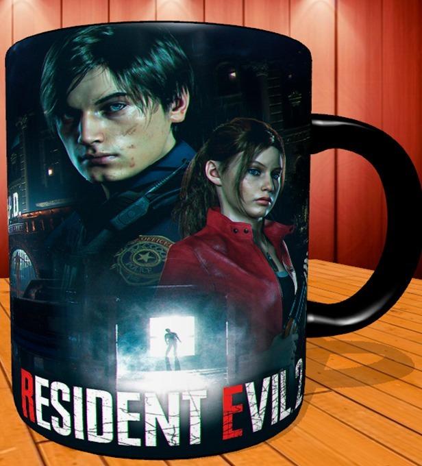 Caneca Resident Evil 2 Remake Mod 3 Black