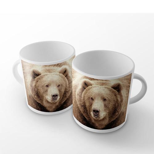 caneca selvagem urso pardo mirror