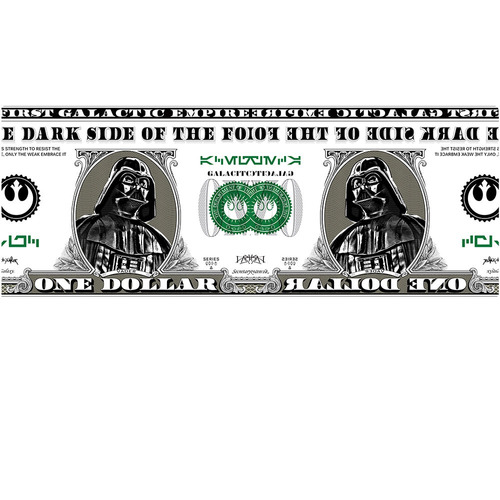 caneca star wars darth vader dollar mirror