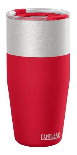 caneca térmica café camelbak vermelho kickbak 600ml até 8h