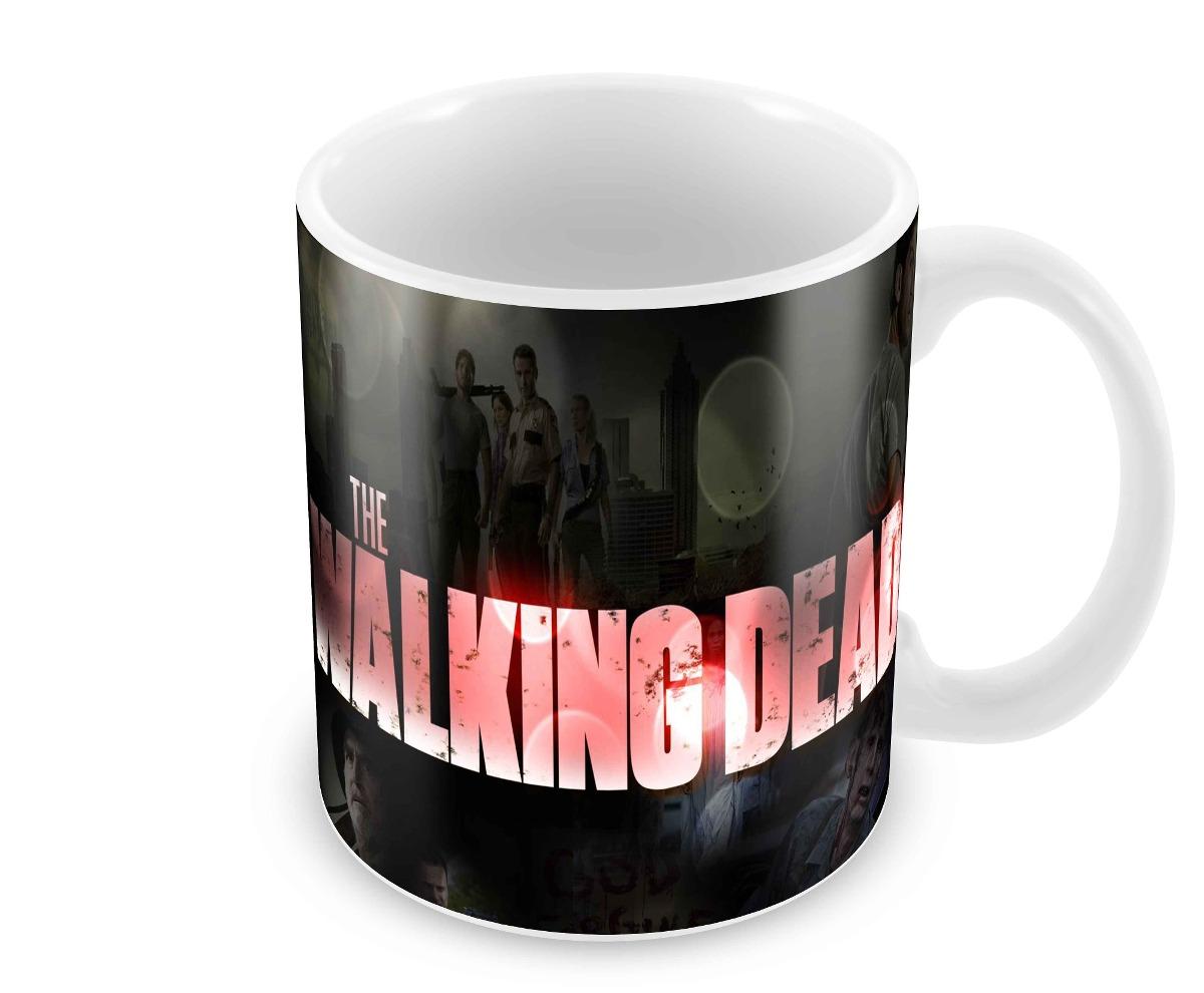 d5d98863f9 Caneca The Walking Dead, Zumbi, Landscape - R$ 21,90 em Mercado Livre