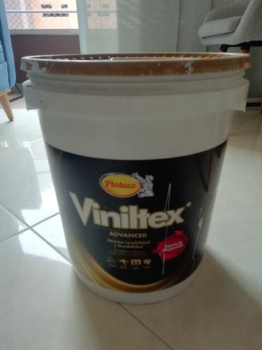 caneca viniltex advance color blanco sellada 5 galones