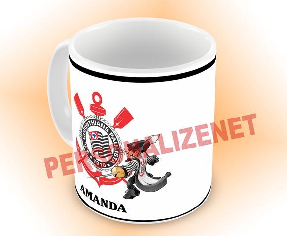 b8866c54c6 Canecas Personalizadas Corinthians 325ml - Promoção - R  19