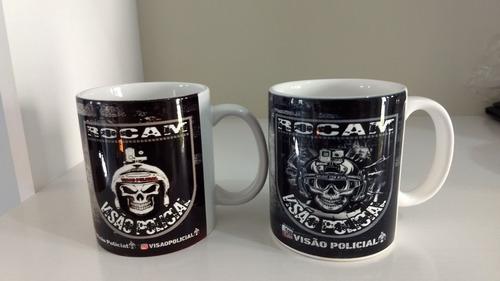 canecas policiais personalizadas