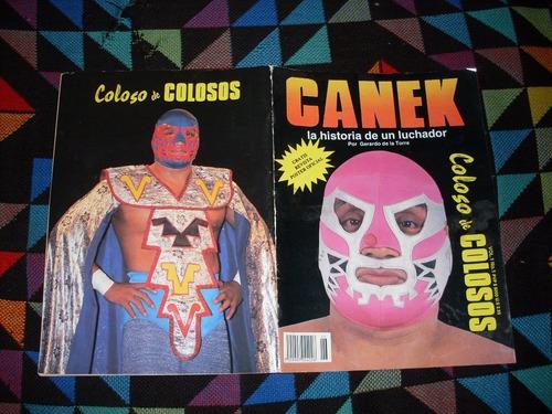 canek revista especial de ´´ coloso de colosos ´´  !