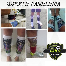 d7aff3bfe011e Caneleira Futebol Personalizada - Caneleira de Futebol no Mercado Livre  Brasil