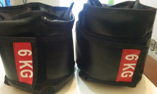 caneleira musculação (tornozeleira) cedro 6kg